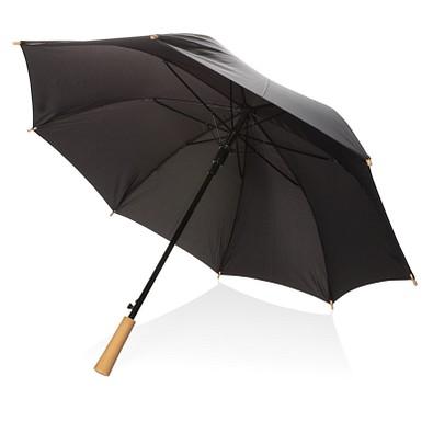 """XD COLLECTION 23"""" Schirm mit automatischer Öffnung, schwarz"""