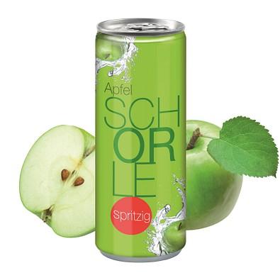 """250 ml Apfelschorle """"Spritzig"""" - Fullbody"""