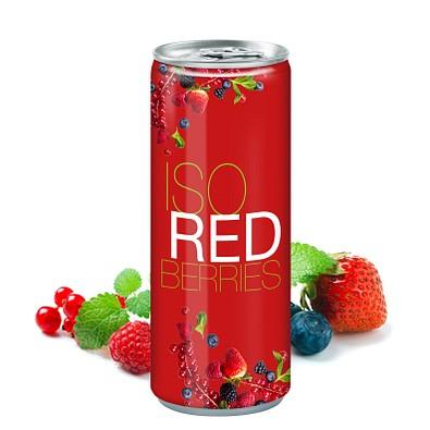 250 ml Iso Drink Redberries - Fullbody