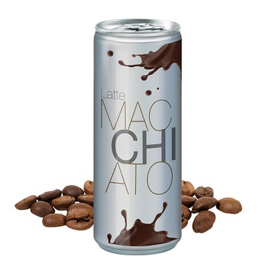 250 ml Latte Macchiato - Body Label transparent (Pfandfrei)