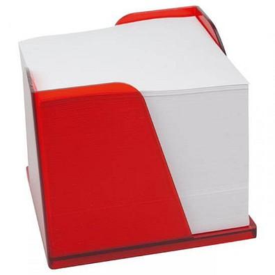 Zettelbox Pfiff, rot-gefrostet