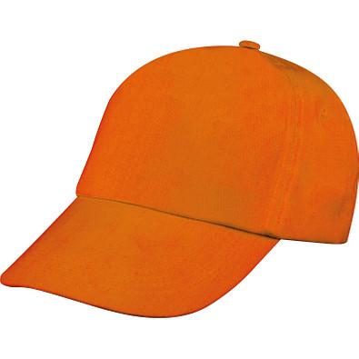 5 Panel Baseball-Cap Santa Fe,orange