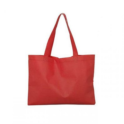 Joytex® Maxi-Vliestasche Textile mit langen Henkeln, rot