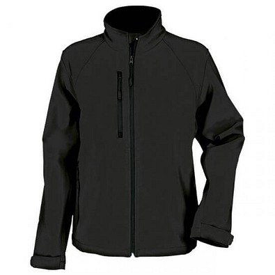 RUSSELL® Softshell Jacke, schwarz, S