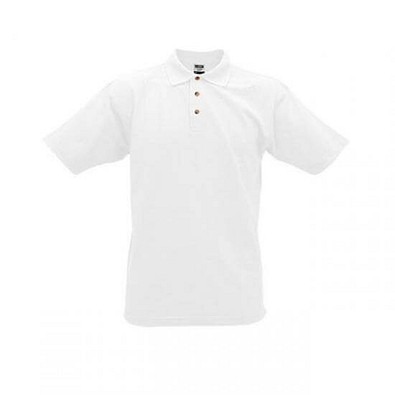 JAMES & NICHOLSON Unisex Poloshirt, weiß, XXL