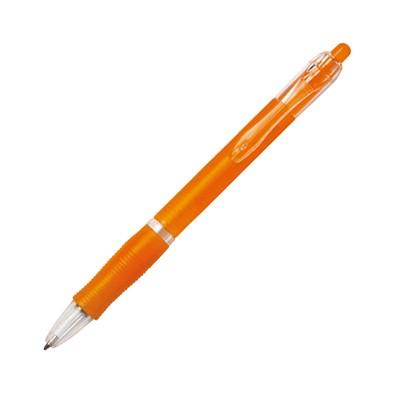 BIC® Kugelschreiber Clic Pen, blaue Mine, orange-frosted