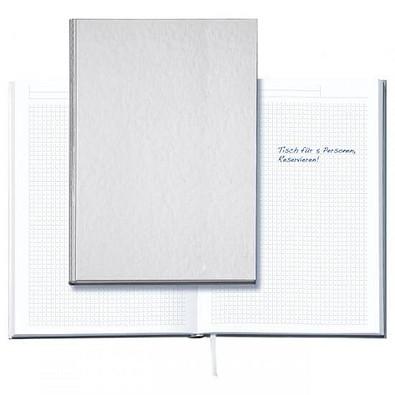 geiger notes Notizbuch Note:Book, Neutral, DIN A5, kariert, silber