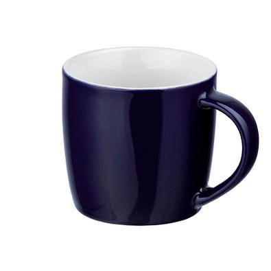 Keramiktasse Lara, 370 ml, dunkelblau