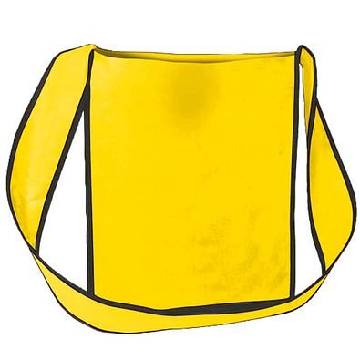 Joytex® Vlies-Umhänge-Dokumententasche, gelb