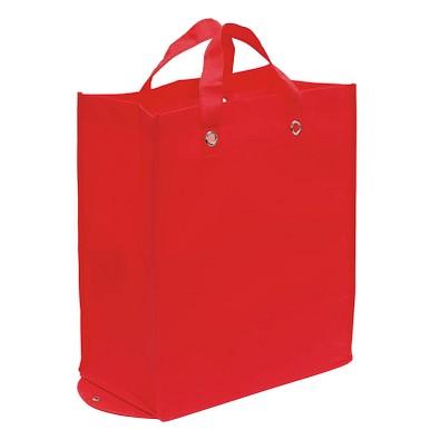 Faltbare Vlies-Einkaufstasche Amica, Rot