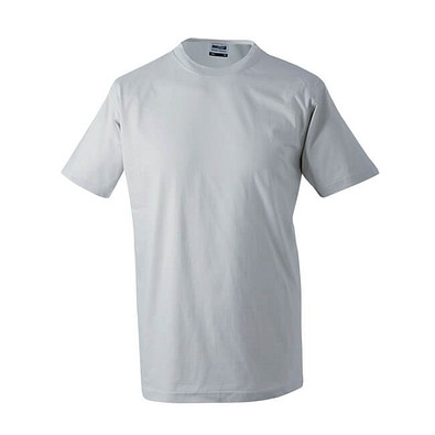 JAMES & NICHOLSON Herren T-Shirt, grau, M
