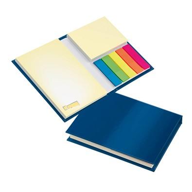 geiger notes Haftnotiz-Büchlein, Einband blau