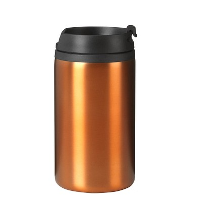 Thermobecher Straight-Line, 300 ml, orange