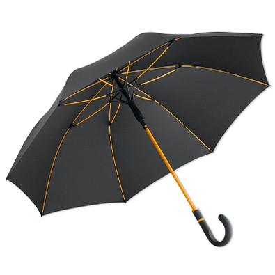 FARE® Automatik-Stockschirm Windproof, anthrazit-orange
