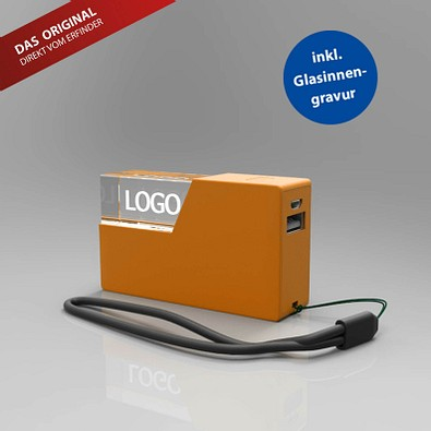 Powerbank 3D, 2600 mAh, Orange