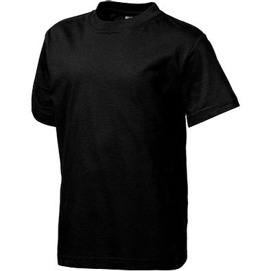 Slazenger™ Kinder T-Shirt Ace, schwarz, 128