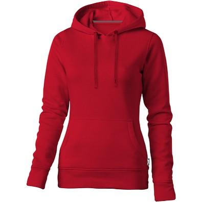 Slazenger™ Damen Kapuzensweater Alley, rot, XXL