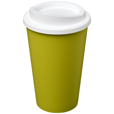 Americano® 350 ml Isolierbecher, limone,weiss