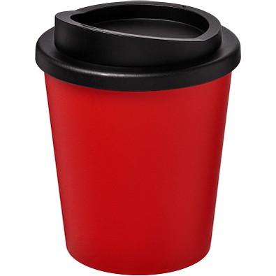 Americano Espresso Isolierbecher, 250 ml, rot,schwarz