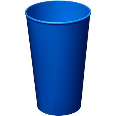 Arena Kunststoffbecher, 375 ml, blau