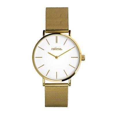 retime® Armbanduhr Slim XXV, gold