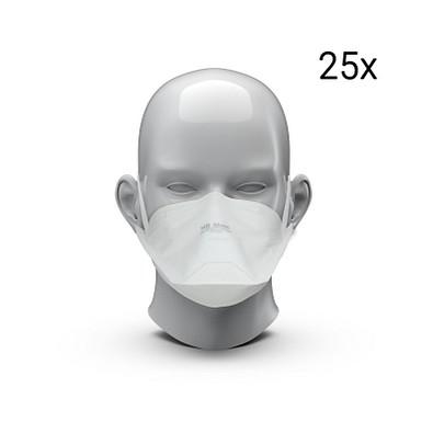 """Atemschutzmaske """"HB2"""", FFP2 NR, 25er-Pack, weiß"""