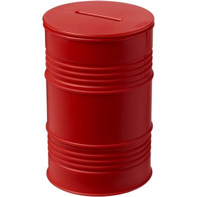 Banc Spardose Ölfass, rot