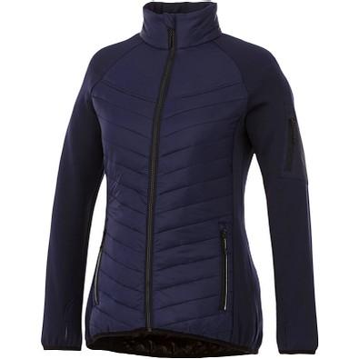 ELEVATE Damen Hybrid-Thermojacke Banff, dunkelblau, M