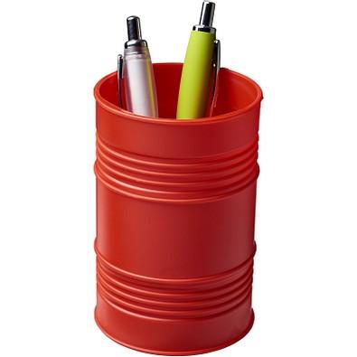 Bardo Ölfass Style Kunststoff Stifteköcher, rot