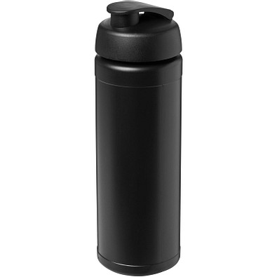 Baseline Plus Flasche mit Klappdeckel, 750 ml, schwarz