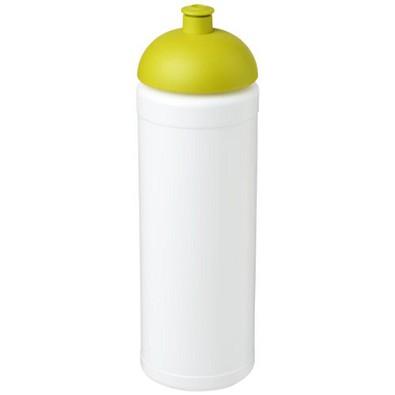 Baseline Plus grip Sportflasche mit Stülpdeckel, 750 ml, weiss,limone