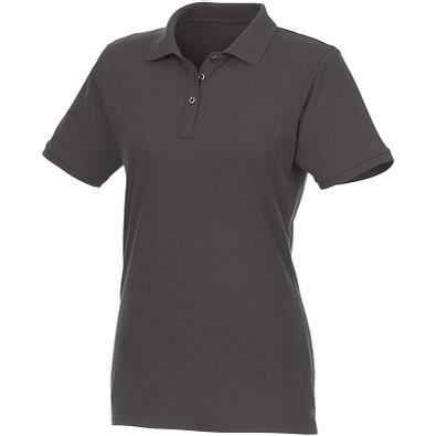 ELEVATE Damen Kurzarm Poloshirt Beryl, grau, L