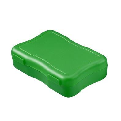 Brotzeitdose Wave, 14,7 x 10 cm, klein, standard-grün