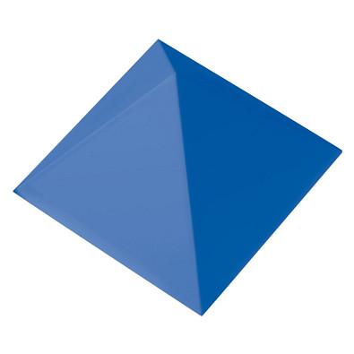 Büroklammernhalter Magnet-Pyramide, standard-blau PP