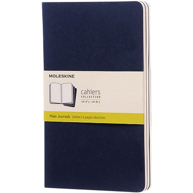 MOLESKINE® Notizbuch Cahier Journal L, blanko, indigoblau