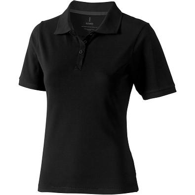 ELEVATE Damen Poloshirt Calgary, schwarz, S