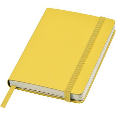 Classic A6 Hard Cover Notizbuch, gelb