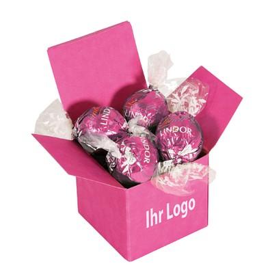 Lindt Color Lindor Box Pink Erdbeer