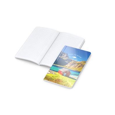 geiger notes Notizbuch Copy-Book White Pocket Bestseller, inkl. Digitaldruck auf Einband, gloss