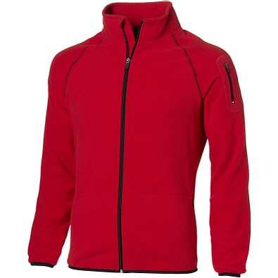 Slazenger™ Herren Fleecejacke Drop Shot, rot, XL