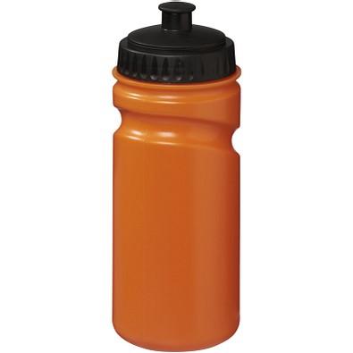 Sportflasche Easy Squeeze, 500 ml, orange/schwarz