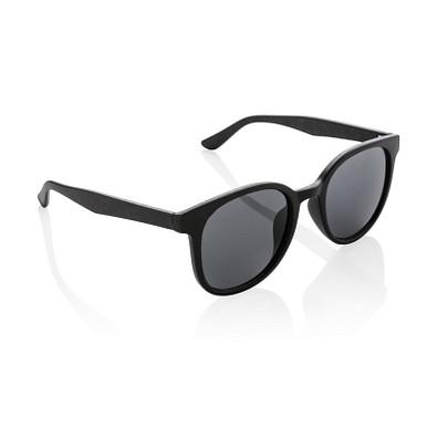 XD COLLECTION Weizenstroh Sonnenbrille ECO, schwarz