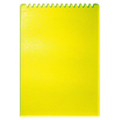 Eiskratzer Rechteck, trend-gelb PS