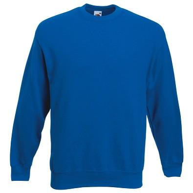 FRUIT OF THE LOOM® Unisex Sweatshirt Set-In, royalblau, L
