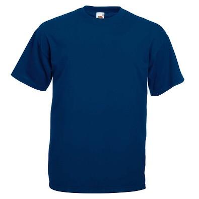 FRUIT OF THE LOOM® Unisex T-Shirt Valueweight T, marine, S
