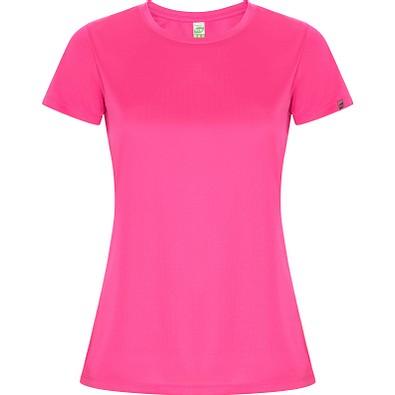 Funktions T-Shirt Imola Damen, fluor pink, M