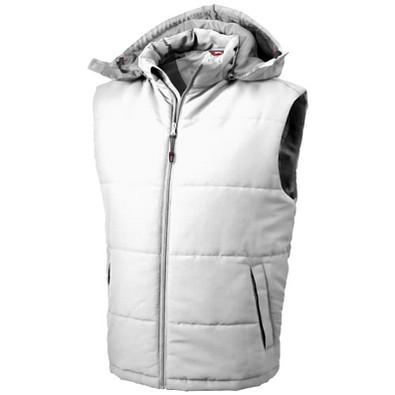Slazenger™ Herren Weste Gravel Bodywarmer, weiß, XL