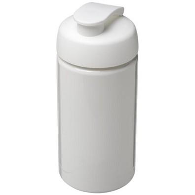 H2O Bop Sportflasche mit Klappdeckel, 500 ml, weiss