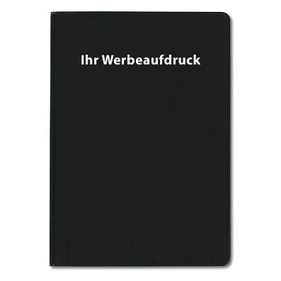 Agenda-Handwerker-Notizbuch, 12-sprachig, schwarz