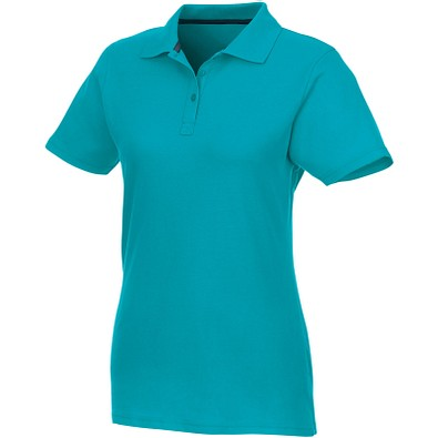 ELEVATE Damen Poloshirt Helios, aquablau, M